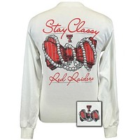 Texas Tech Raiders Preppy Stay Classy Long Sleeve T-Shirt