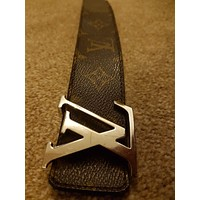 louis vuitton belt mens size 34