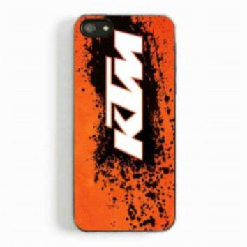 ktm logo for iphone 5 and 5c case