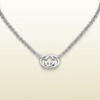 Gucci - necklace with interlocking G motif pendant. 190489J84008106