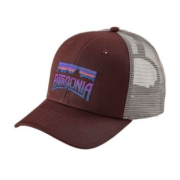 a55b0ff2df3 Local Fixture  29.00. Patagonia Fitz Roy Frostbite Trucker Hat