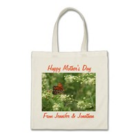 Mother's Day Tote Bag, Butterfly