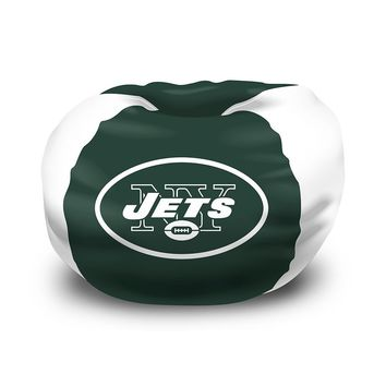 New York Jets NFL Team Bean Bag (96 Round)