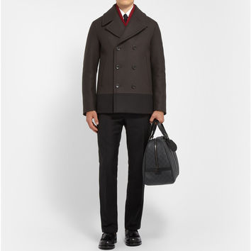 Gucci - Panelled Quilted Wool Peacoat | MR PORTER