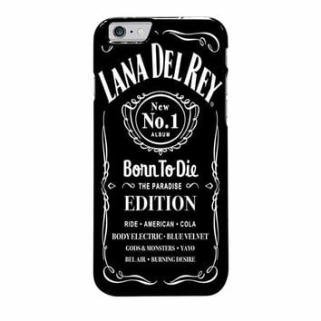 lana del rey jack daniels iphone 6 plus 6s plus 4 4s 5 5s 5c cases