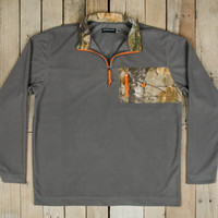 Southern Marsh FieldTec Dune MAX-5 1/4 Zip Pullover- Burnt Taupe