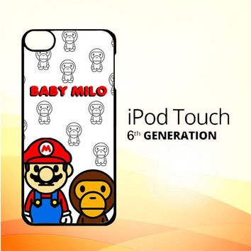 Baby Milo And Mario W4812 iPod Touch 6 Case
