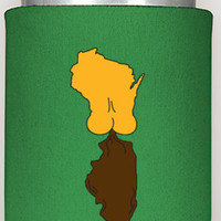 "4 can coozies, ""It's A Green Bay Thing"", free shipping, can coozies, koozies, the360shop, christmas gifts, man gift, men, green bay,  packer"