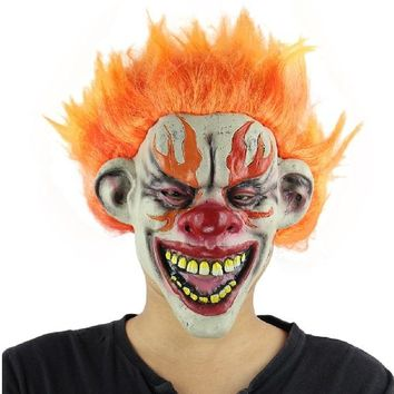Clown Mask Adult Scary Halloween Costume Accessory