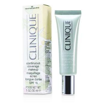Clinique Continuous Coverage Spf15 - No. 02 Natural Honey Glow Make Up