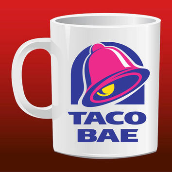 Taco Bae for Mug Design