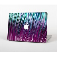 The Pink & Blue Vector Swirly HD Strands Skin Set for the Apple MacBook Pro 15""