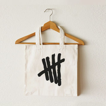 5SOS - 5 Seconds of Summer - Women bag - Tote bag - Canvas tote bag - Shopping bag - Ipad bag - Macbook bag -CCT-TTB-032