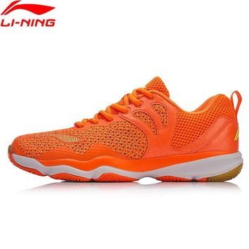 Li-Ning Men RANGER II LITE-TD Badminton Training Shoes Wearable Anti-Slip LiNing Breathable Sneakers Sports Shoes AYTN015