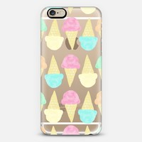 Scoops (transparent) iPhone 6 case by Lisa Argyropoulos | Casetify