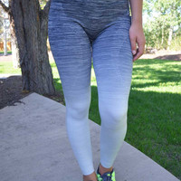 Sweat It Out Leggings - Black