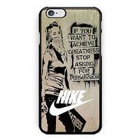 Nike Graffiti Quotes Vintage Hard Plastic Case For iPhone 6s, 6s plus, 7/7s