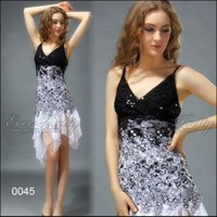 Ever-Pretty Flowing White Lace Cocktail Dress   Ever-Pretty
