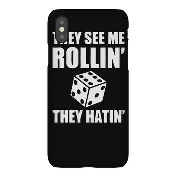 they see me rollin they hatin iPhoneX