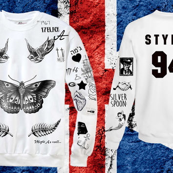 Harry Styles Tattoo STYLES 94 Sweatshirt