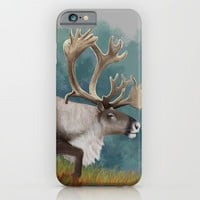 Caribou  iPhone & iPod Case by North Star Artwork