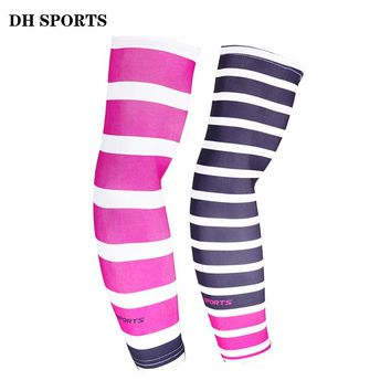 DH SPORTS 1 Pair Cycling Arm Warmers Summer Bike Bicycle Armwarmer Outdoor UV Protection Sport Cuff Ridding Running Arm Sleeves