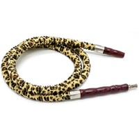 1.0m &1.5m Leopard Print Design Plush Shisha Hose For Hookah Water Pipe Sheesha Chicha Narguile Accessories SH-507