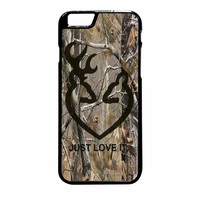 Love Browning Deer Camo Real Tree Just Love It iPhone 6 Plus Case