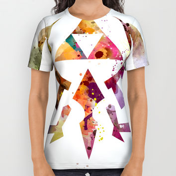 Zelda All Over Print Shirt by monnprint
