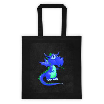 Draco Blue Green Tote bag