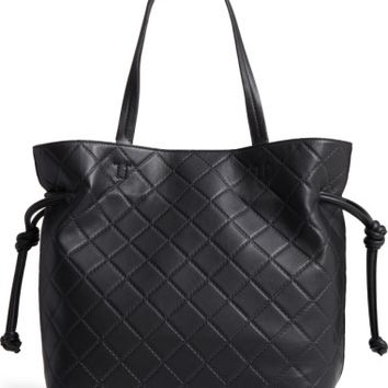 Tory Burch Georgia Slouchy Quilted Leather Tote | Nordstrom