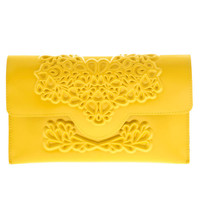 MeDusa Slim Clutch- Yellow | MeDusa