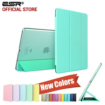 Yippee Color PU+Transparent PC Back Ultra Slim Light Weight Scratch-Resistant Case for iPad Air 2/6