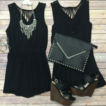 Ladder Back Romper