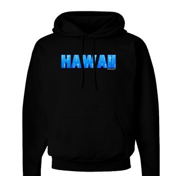 Hawaii Ocean Bubbles Dark Hoodie Sweatshirt by TooLoud