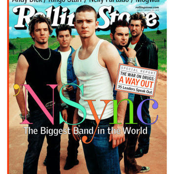 'N Sync, Rolling Stone no. 875, August 2001 Photographic Print by Mark Seliger at AllPosters.com