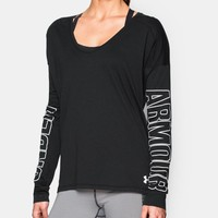 Women's UA Favorite Logo Long Sleeve | Under Armour US