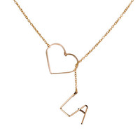 LA Love Necklace