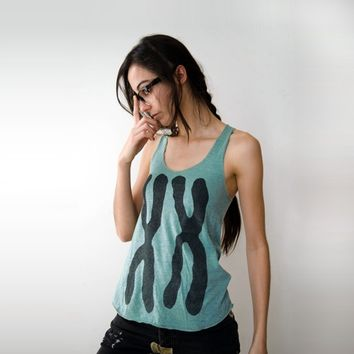 Womens Tank Top, XX Chromosomes