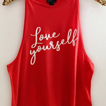 Love Yourself - Ruffles with Love - Graphic Tee - RWL