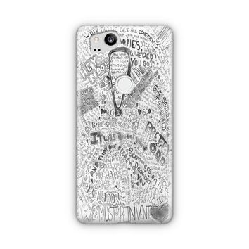 Panic At The Disco Watercolor Google Pixel 3 XL Case | Casefantasy