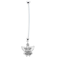 Angels Watching Over Me Pregnancy Belly Ring | Body Candy Body Jewelry