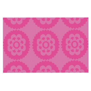 "Nicole Ketchum ""Moroccan Pink"" Decorative Door Mat"