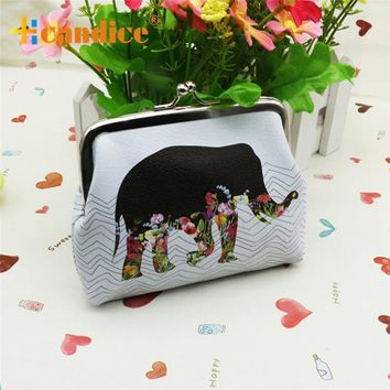Women's Wallets Coin Purses Elephant