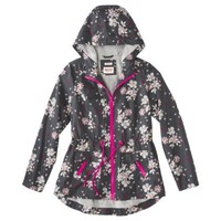 Mossimo Supply Co. Junior's Anorak Rain Coat -Floral Print