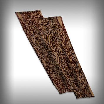 Henna Tattoo Compression Sleeve Arm Sleeve