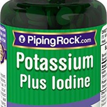 Potassium Plus Iodine 180 Tablets Dietary Supplement