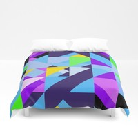 Geometric XIX Duvet Cover by tmarchev