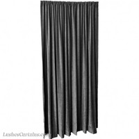 7 ft High Fire Retardant Velvet Curtains