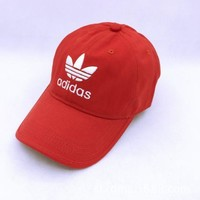 PEAPDQ7 Summer Red Adidas Embroidery Baseball Outdoor Sports Cap Hats